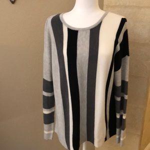 INC Brand Striped Sweater XL